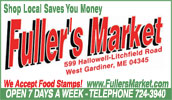 We are your local Shurfine supermarket. Whether you're shopping for everything on your grocery list or just need a few specialty items, Fuller's Market will meet your needs.