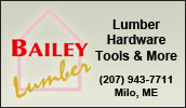Bailey Lumber has been serving contracors and home owners with quality building material, hardware and tools since 1953. Free delivery available.