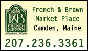 We are the only full service grocery store in downtown Camden. Whether you're shopping for everything on your grocery list or just need a few specialty items, French & Brawn Market Place will meet your needs.