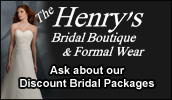 One stop bridal shopping for all your bridal needs from gowns to accessories. Offering gowns, tuxedo rentals & limousine services.