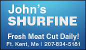 We are your local Shurfine supermarket. Whether you're shopping for everything on your grocery list or just need a few specialty items, John's Shurfine will meet your needs.