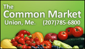 We are your local Shurfine supermarket. Whether you're shopping for everything on your grocery list or just need a few specialty items, The Common Market will meet your needs.