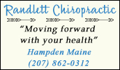 Chiropractor located in Hampden, Maine.
