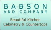 Babson and Company located in Blue Hill, Maine is a custom kitchen cabinet maker and dealer offering corian countertops, custom cabinets & millwork, cad design, and cnc panel processing.