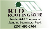 pecializing in custom metal roofs of all sizes, with an eye towards the residential market. Serving all of Maine, New Hampshire & Vermont. Commercial services available.