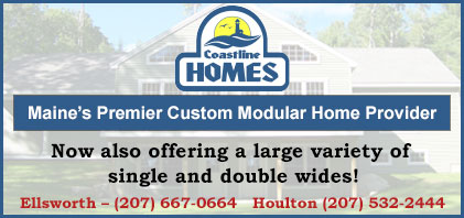 Coastline Homes is a Maine modular home and manufactured home (single wide & double wide) dealer, conveniently located in Ellsworth and Houlton.